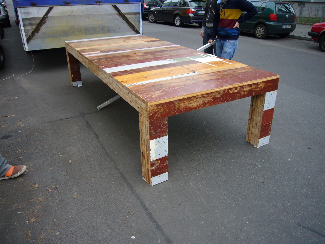 Xxl table neulant van exel for Table design xxl